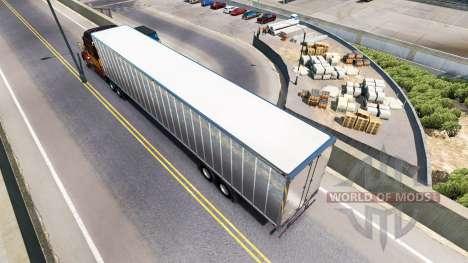 La piel Sucia de Barro en el remolque para American Truck Simulator
