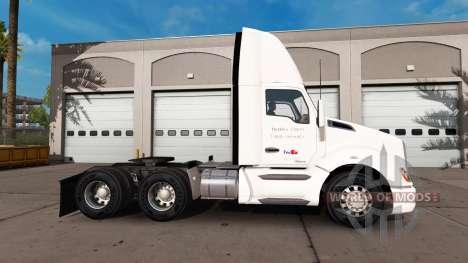 FedEx piel para el Kenworth tractor para American Truck Simulator