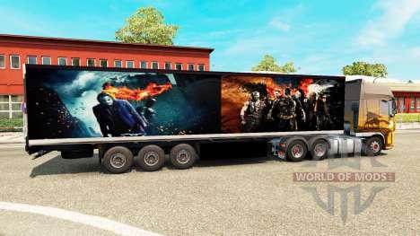 Trailer De Batman para Euro Truck Simulator 2