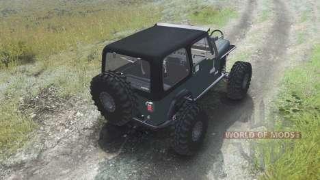 Jeep YJ 1987 [03.03.16] para Spin Tires