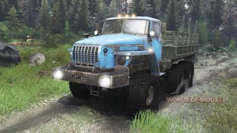 Ural-4320 Unión Soviética [03.03.16] para Spin Tires