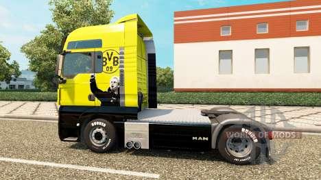BVB piel para HOMBRE camión para Euro Truck Simulator 2