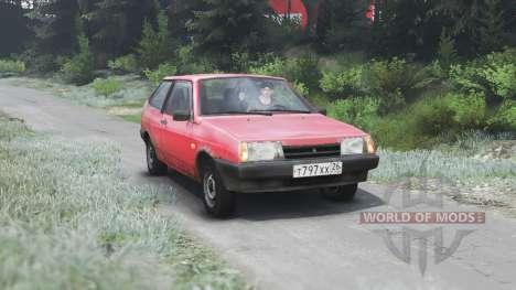 VAZ-2108 2109 21099 [03.03.16] para Spin Tires
