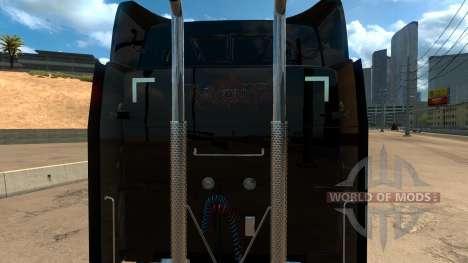 Peterbilt 579 Bayonetta skin para American Truck Simulator