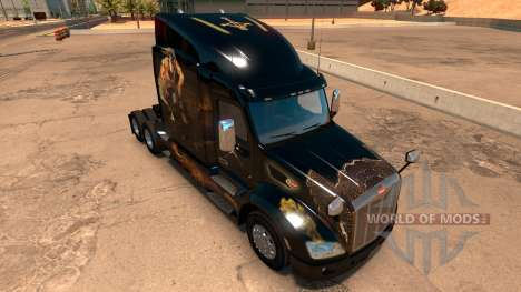 Perbilt 579 Rogue and Genie skin para American Truck Simulator