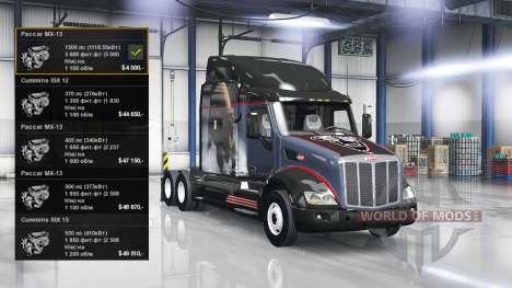 Motor 1500 HP para American Truck Simulator