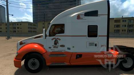 Navajo Express Inc. skin for Kenworth T680 para American Truck Simulator