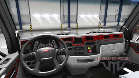 La madre de la perla interior en un Peterbilt 57 para American Truck Simulator