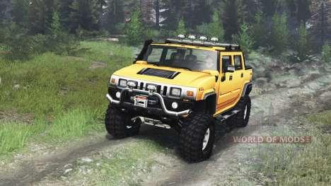 Hummer H2 [03.03.16] para Spin Tires