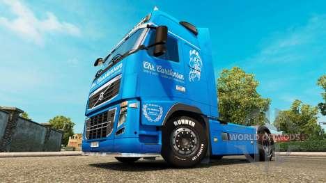 Carstensen de la piel para camiones Volvo para Euro Truck Simulator 2