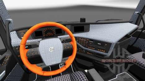 Cuadros de interiores de Volvo FH para Euro Truck Simulator 2