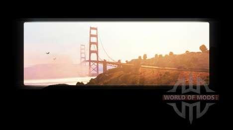 La eliminación de la ATS logo en las pantallas d para American Truck Simulator