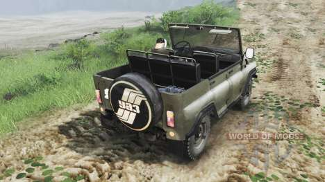 UAZ-3151 [03.03.16] para Spin Tires