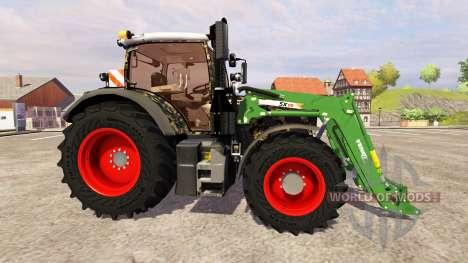 Fendt 724 Vario SCR [military] v3.0 para Farming Simulator 2013
