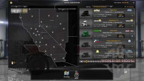 Nueva economía (Klaas Economía Mod - V1.1.11) para American Truck Simulator