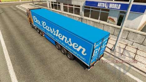 Semi Carstensen para Euro Truck Simulator 2