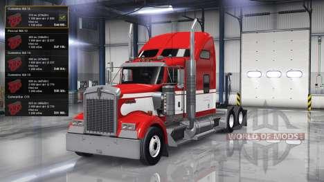 Iconos nuevos motores para American Truck Simulator