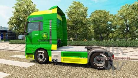 La piel de John Deere para el HOMBRE camiones para Euro Truck Simulator 2