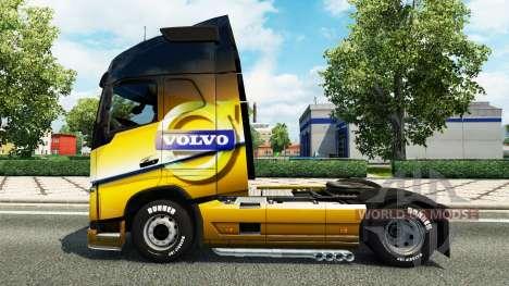 El Volvo Especial 2012 de la piel para camiones  para Euro Truck Simulator 2
