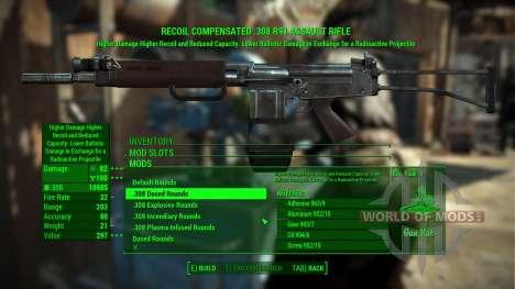 R91 rifle de asalto para Fallout 4
