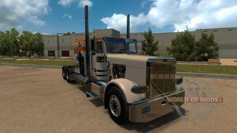 T-D-S Alien vs Predator Skin for Peterbilt 389 para American Truck Simulator
