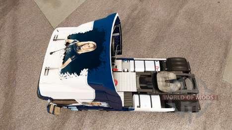 La piel que el Equipo Williams F1 para Renault c para Euro Truck Simulator 2