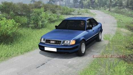 Audi 100 C3 Quattro [03.03.16] para Spin Tires