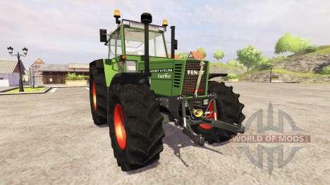 Fendt Favorit 615 LSA Turbomatic para Farming Simulator 2013