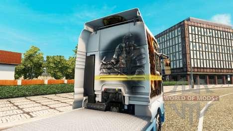 La piel de el Señor de los Anillos en el camión  para Euro Truck Simulator 2