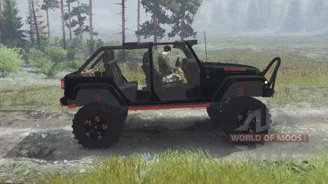 Jeep Wrangler Rubicon [03.03.16] para Spin Tires
