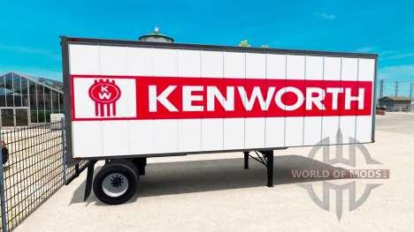 Skins para remolques para American Truck Simulator