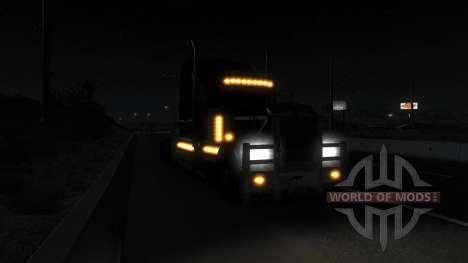 La iluminación realista (Real Faros Mod) para American Truck Simulator