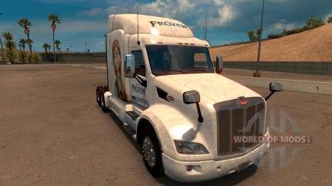 Congelado de la piel para Peterbilt 579 para American Truck Simulator