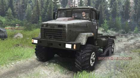 KrAZ-5131 [tractor][03.03.16] para Spin Tires