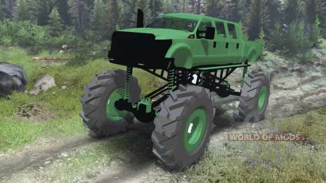 Ford F-350 [six doors][03.03.16] para Spin Tires