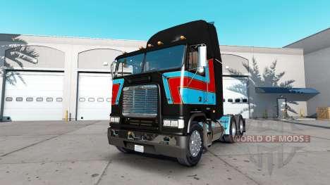 La piel Andre Bellemare en la unidad tractora Fr para American Truck Simulator