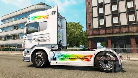 La música de la piel para Scania camión para Euro Truck Simulator 2