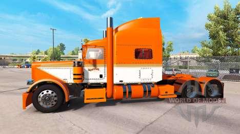 Скин Tri-Estado de los Productos básicos на Pete para American Truck Simulator