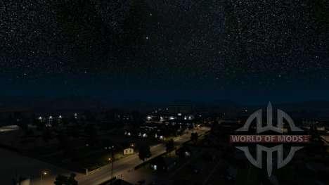 Cielo estrellado para American Truck Simulator