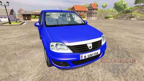 Renault Logan para Farming Simulator 2013