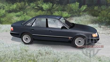 Audi 100 Quattro [03.03.16] para Spin Tires