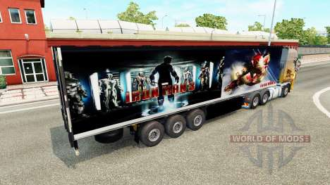 Trailer De Iron Man 3 para Euro Truck Simulator 2