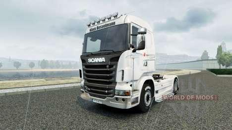 La piel Klaus Bosselmann para Scania camión para Euro Truck Simulator 2