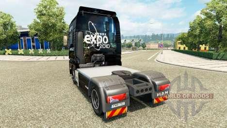 La Stark Expo 2010 de la piel para el HOMBRE cam para Euro Truck Simulator 2