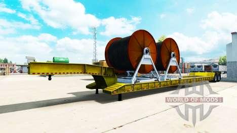 Baja de barrido con cable para American Truck Simulator