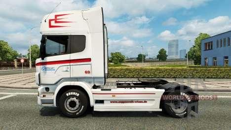 Скин Coppenrath & Wiese v1.2 para Euro Truck Simulator 2