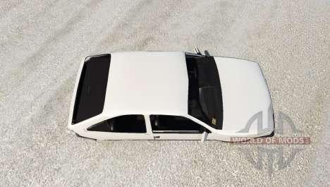 Opel Kadett para BeamNG Drive