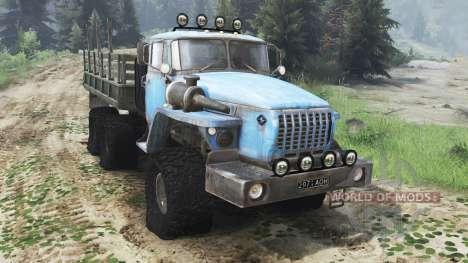 Ural 4320 la URSS [03.03.16] para Spin Tires
