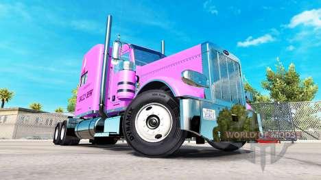 La piel Pooh Veasna tractor Peterbilt 389 para American Truck Simulator