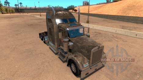 Kenworth W900 SCS Paintjob para American Truck Simulator